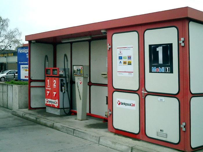 Tankstelle 550301: 45478 Mülheim, Neckarstraße 30