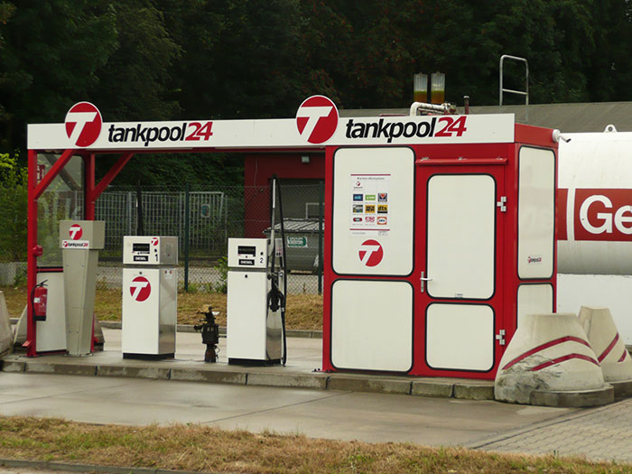 Tankstelle 550501: 45472 Mülheim, Geitlingstraße 100