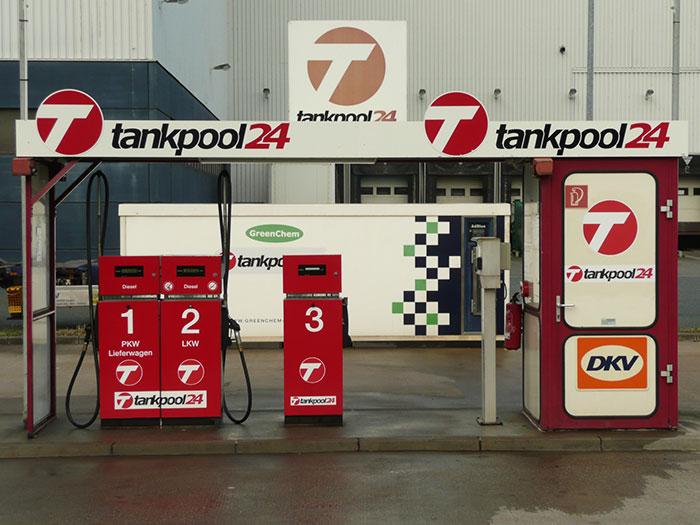 Tankstelle 551401: 47229 Duisburg, Logport, Marseiller Straße 11