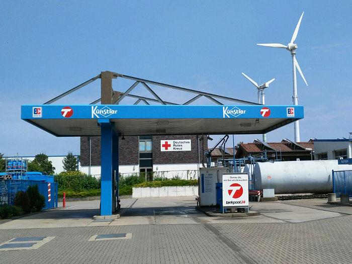 Tankstelle 552301: 46325 Borken, Landwehr 27