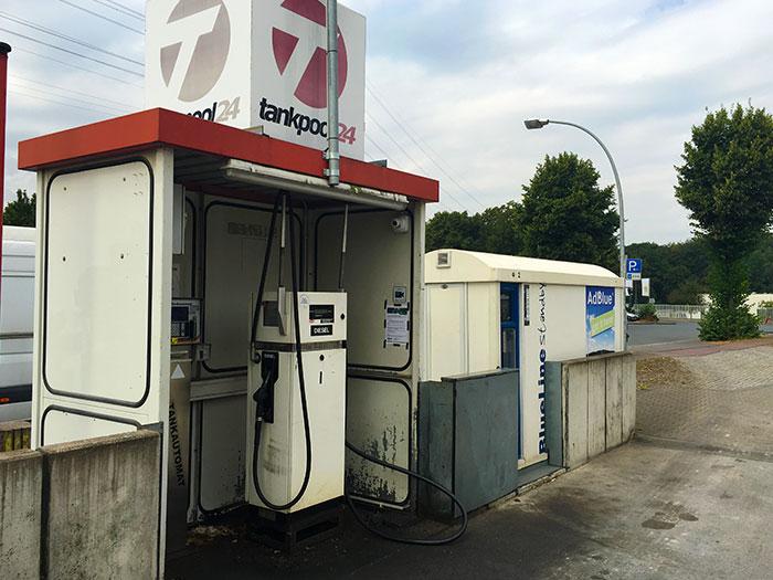 Tankstelle 551901: 46242 Bottrop, Am Rhein-Herne-Kanal 1,4
