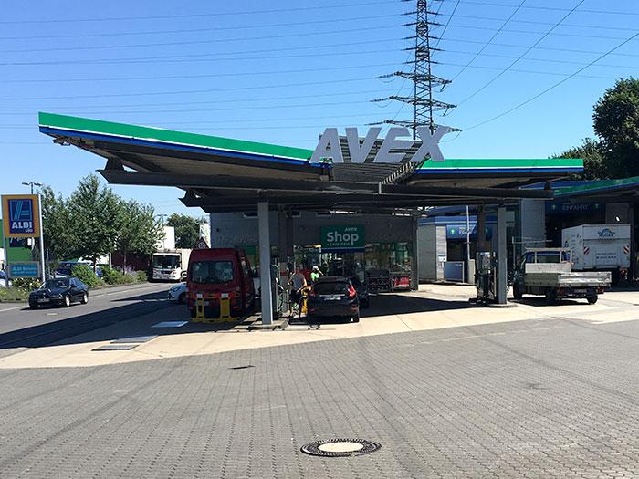 Tankstelle 551801: 50226 Frechen, Bonnstraße 15-17