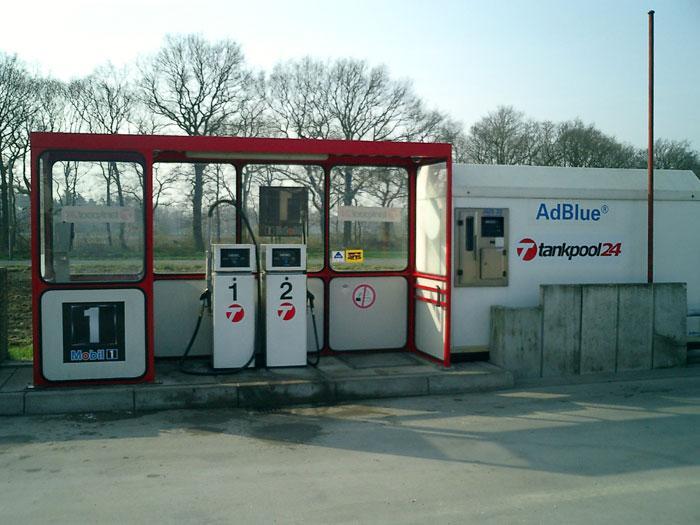 Tankstelle 550701: 46569 Hünxe, In der Beckkuhl 50
