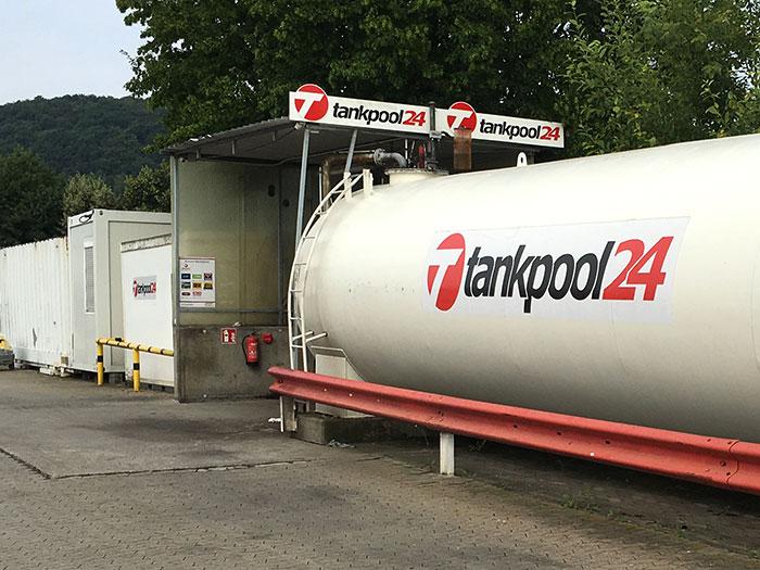 Tankstelle 551001: 56651 Niederzissen, Industriegebiet im Scheid 12