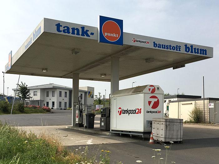 Tankstelle 552801: 56637 Plaidt, Ludwig Erhard Str. 2