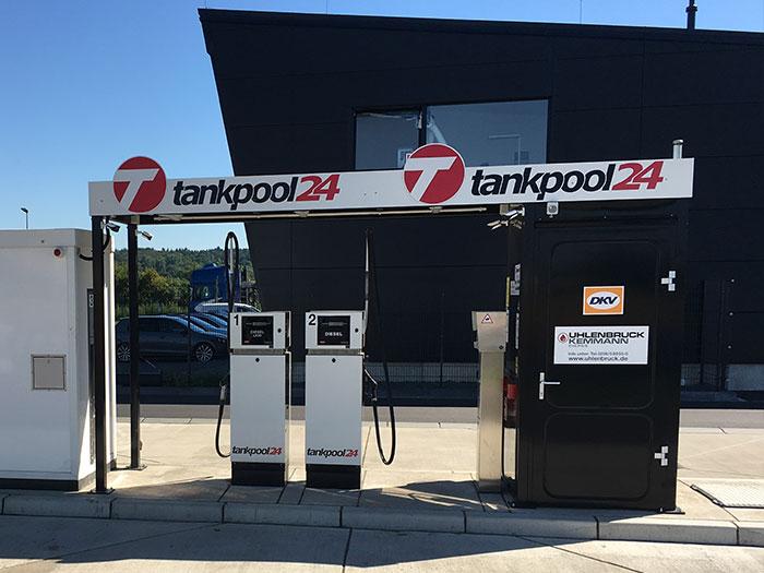 Tankstelle 552901: 53919 Weilerswist Euskirchen, Felix-Wankel-Straße 6